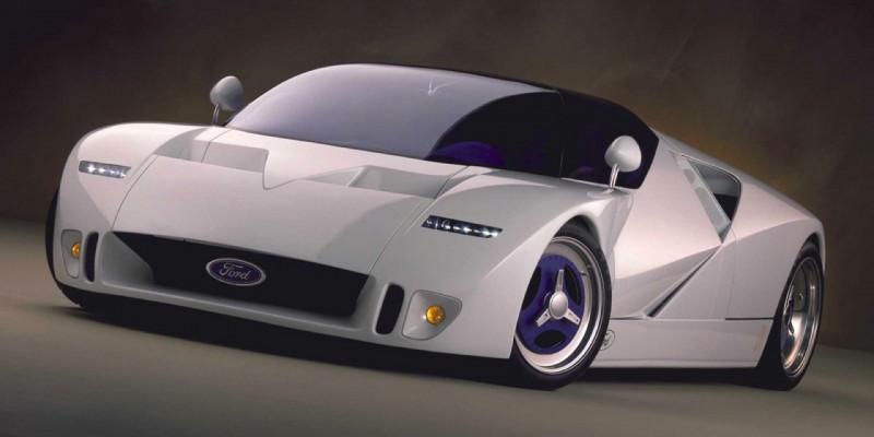 Ford GT90 : concept-car oubliée aussi  rapide qu'une Bugatti Veyron.