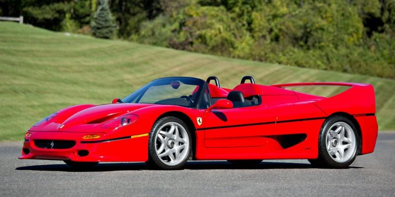 Ferrari F50 : 10 choses que vous ignoriez