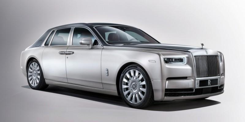 Salon de Francfort 2017- Rolls Royce Phantom dernière version : classe absolue.