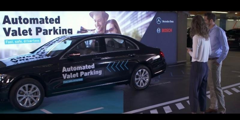Mercedes-Benz Automated Valet Parking: la voiture qui cherche une place toute seule!