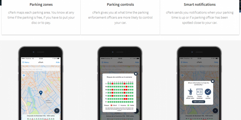 Une App pour éviter les PV de stationnement