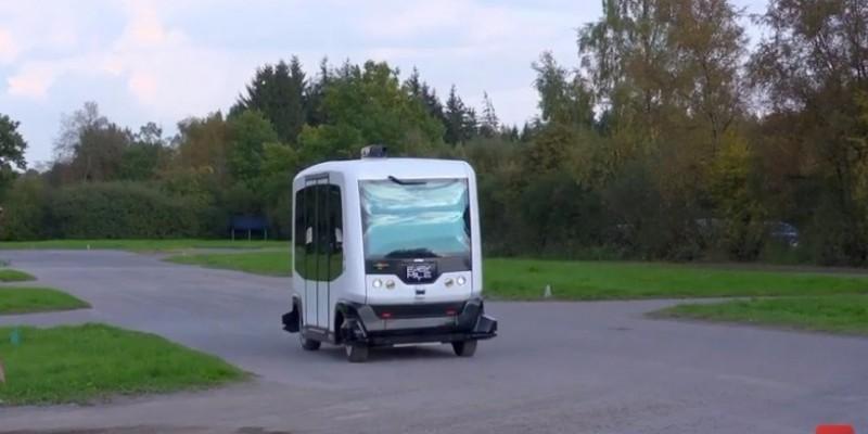 Des navettes autonomes en Belgique dès 2018